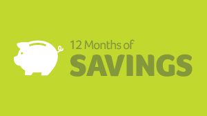 12 Months of Savings