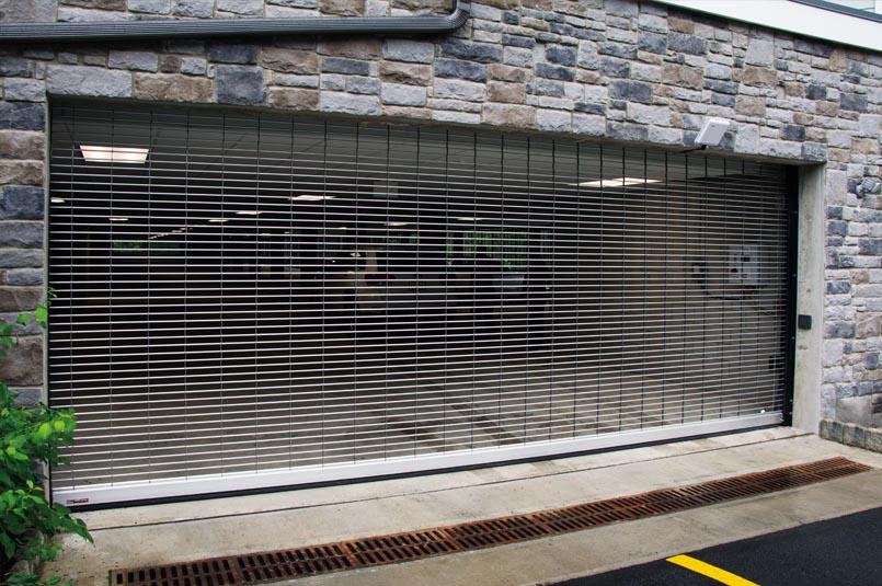 Grille Garage Door