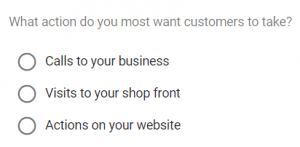 Customer Action from Google Ads