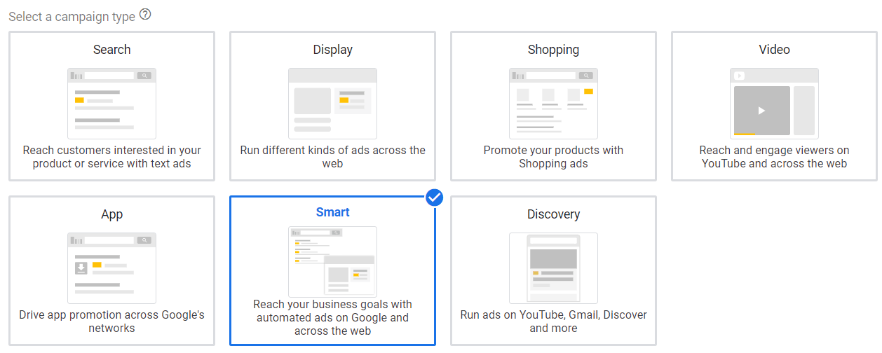 Different Ad Types in Google Ads