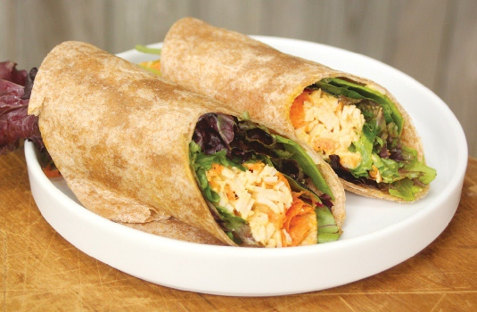 1025X746 Turkey Salad Wrap Blog 01