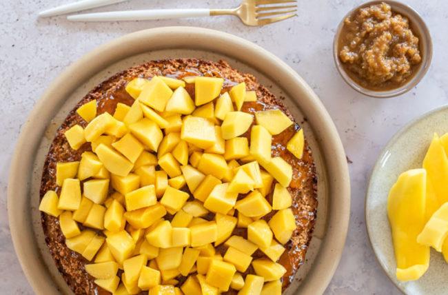Mango Celebration Cake