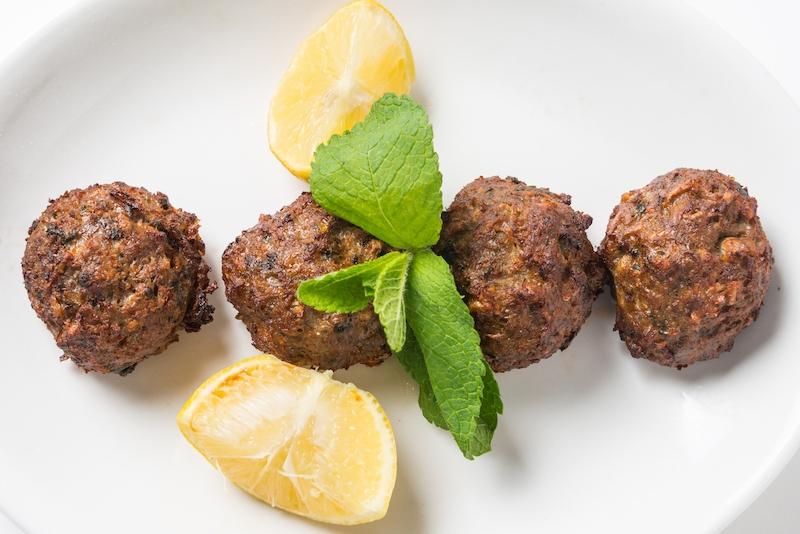 Ra Greek Meatballs
