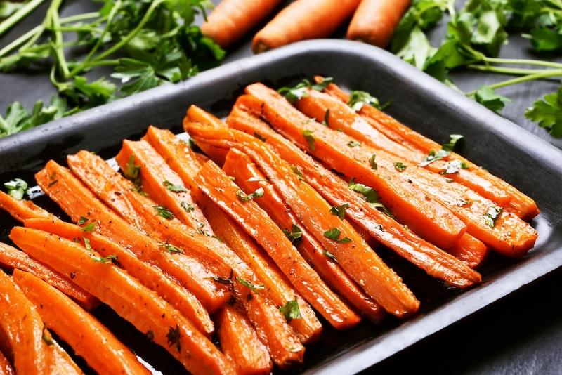 Ra Roasted Carrots