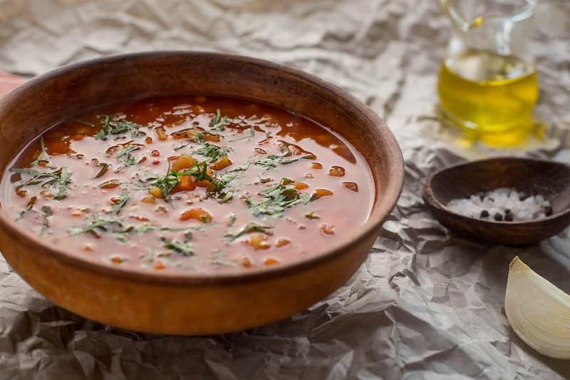 Ra Tomato Bean Soup