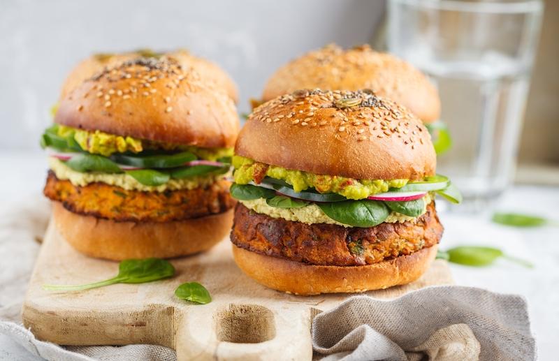 Ra Veggie Burger
