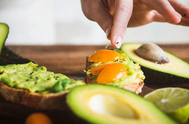 Avocado Toast Med Diet