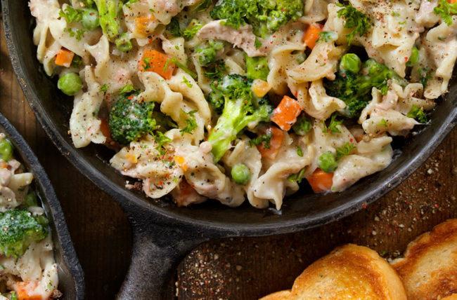 Healthy Chicken Noodle Casserold