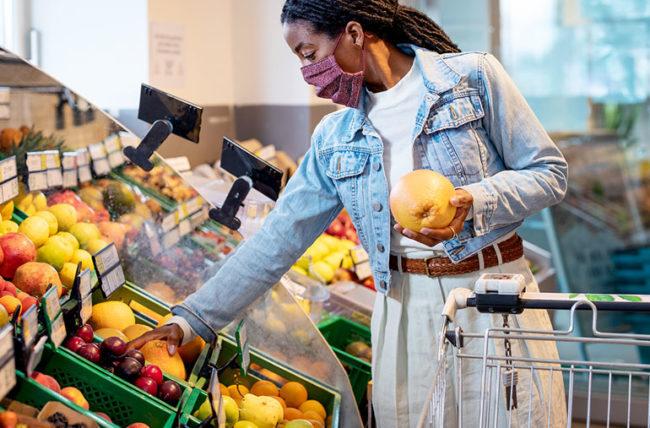 Shopping Fruit