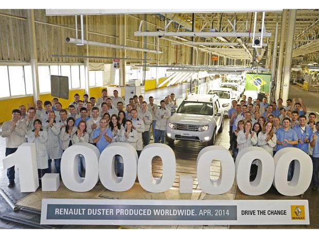 Milionésimo Duster foi feito no Paraná
