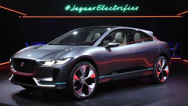 Jaguar I-Pace é o primeiro conceito elétrico da Jaguar