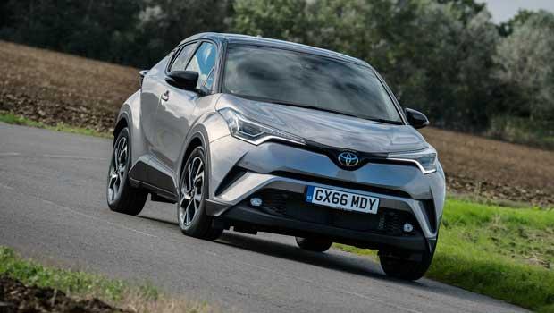 Toyota C-HR começa a ser vendido na Europa em janeiro