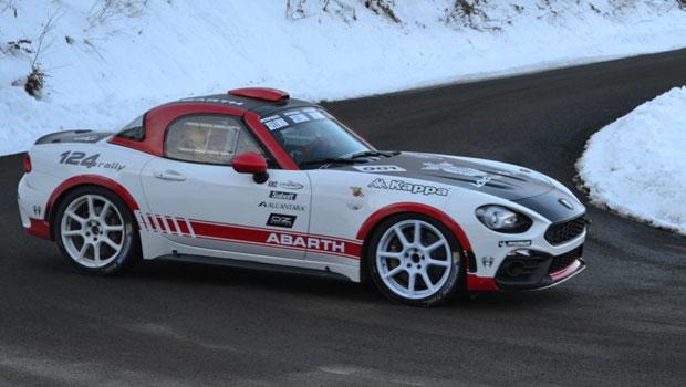 Abarth 124 Rally fará sua estréia no dia 19 de janeiro