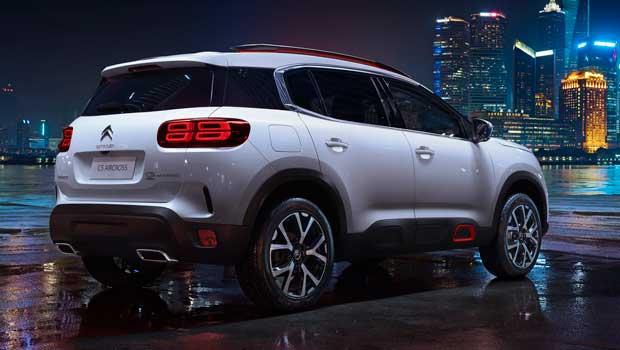 SUV estreia plataforma e nova suspensão na Citroën