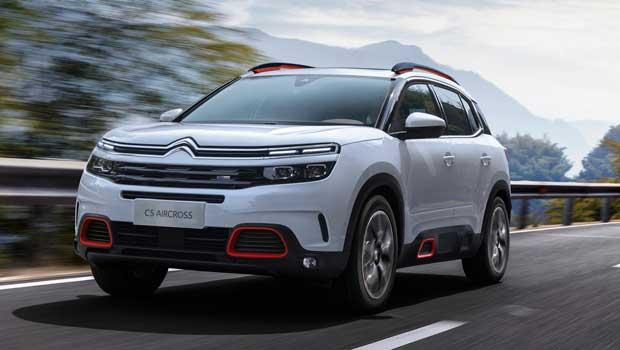 Citroën C5 Aircross será apresentado em Xangai, na China