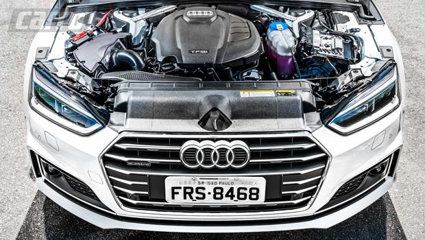 Motor 2.0 turbo da versão de topo entrega 252 cv