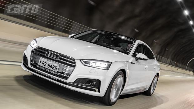 Tradicional grade hexagonal da Audi ficou maior na nova geração do A5
