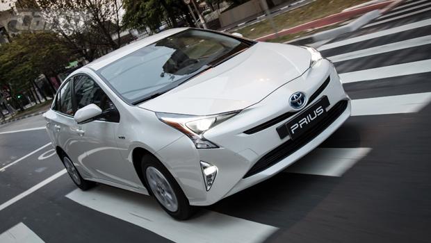 Vendas do Prius no Brasil subiram quase 500% entre 2016 e 2017