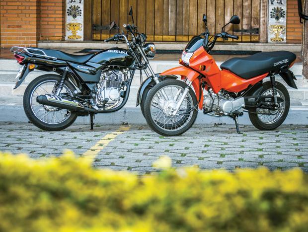 Honda Pop 100 vs. Suzuki GS 120