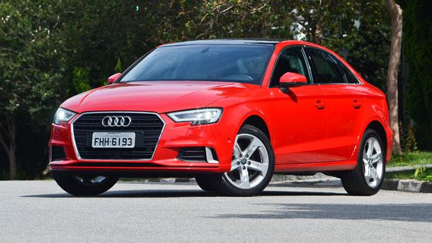 Audi A3 Sedan 2.0 recebeu mesmo facelift do 1.4 TFSI