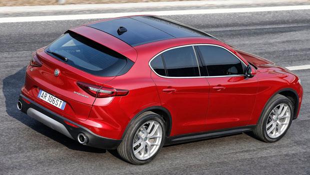 Visual marcante italiano torna o Stelvio um dos mais belos SUVs