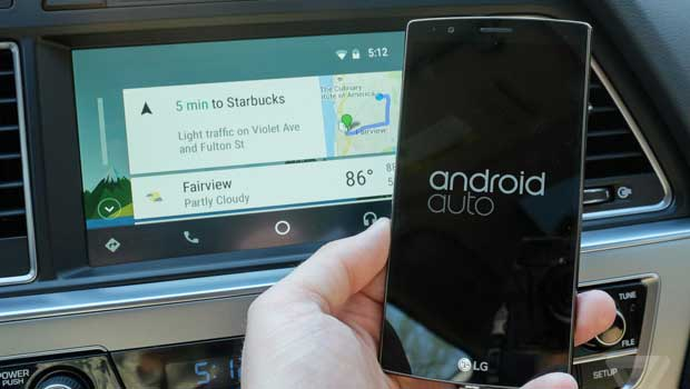 Android Auto hoje é a opção de conectividade do Google com veículos