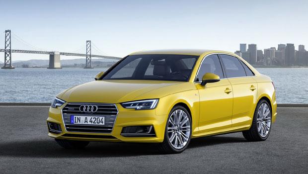 O renovado A4 foi um dos grandes responsáveis pelo crescimento da Audi