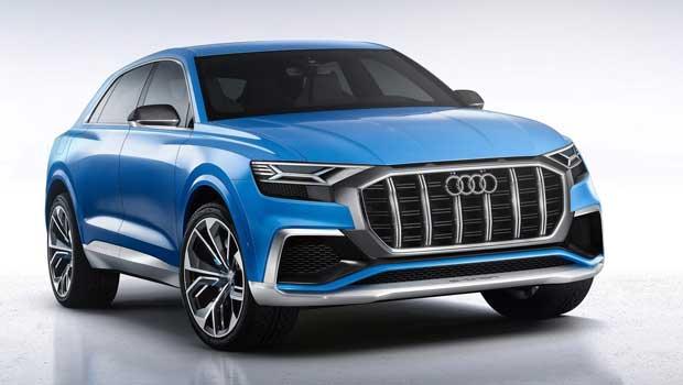 Audi terá versão esportiva do Q8, preparada pela Audi Sport