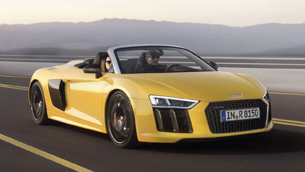 Atualmente, R8 V10 Plus de 618 cv é o carro mais potente da Audi