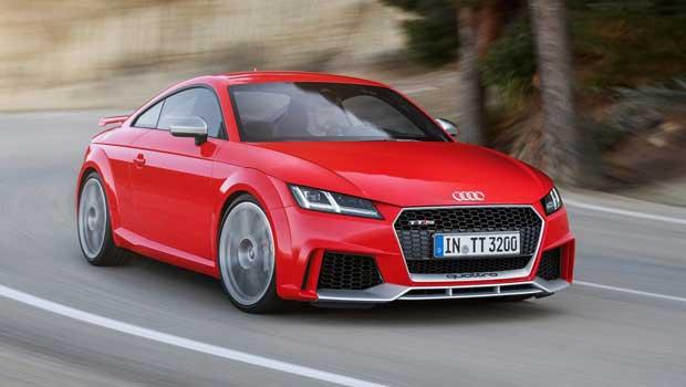 """Audi TT RS é um dos modelos atuais da """"nova"""" Audi Sport"""