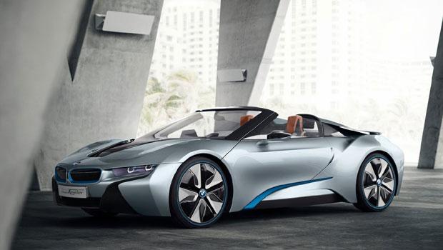 BMW i8 começará a ser produzido em 2018