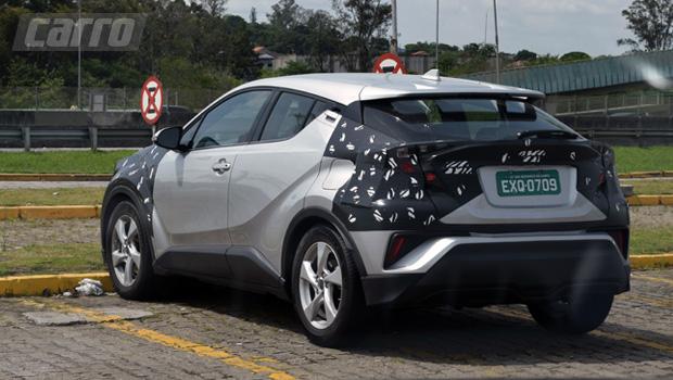 SUV compacto já roda no Brasil há alguns meses