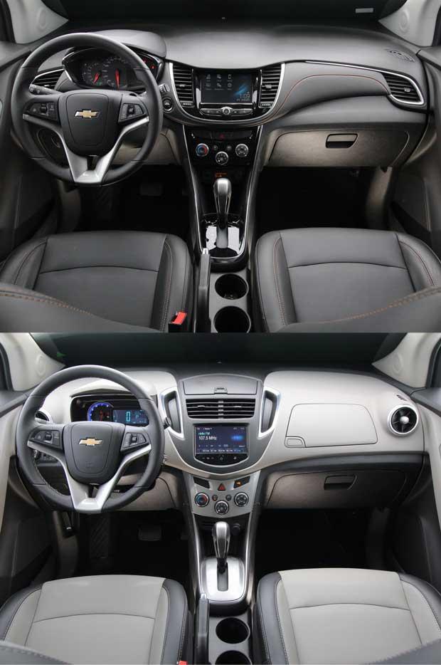 Interior do SUV está mais sofisticado com acabamento black piano