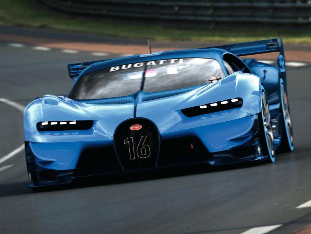 Bugatti Vision GT: dos games para as pistas