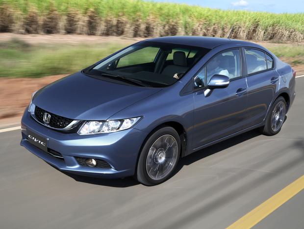 Honda Civic atualmente à venda ano Brasil