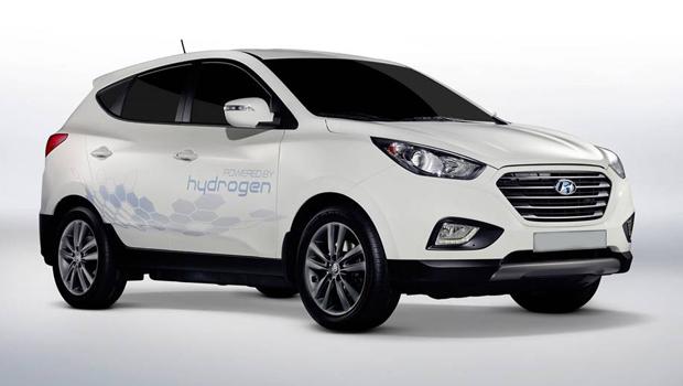 Próximo Tucson a célula de hidrogênio terá autonomia de 560 km