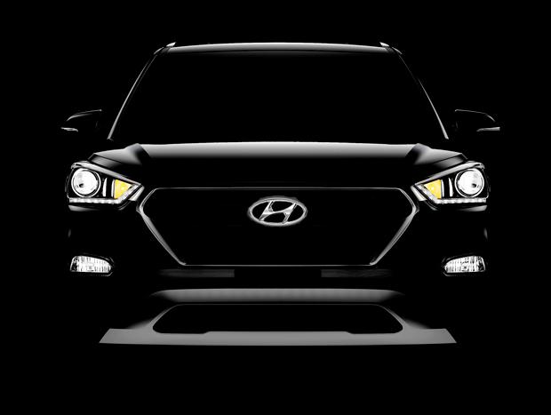 Hyundai revelou apenas fotos misteriosas do Creta