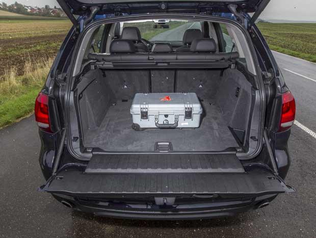 O X5, capaz de abrigar 650 litros, é incomparável