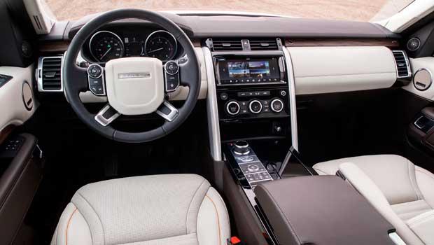 Acabamento do Land Rover é tão bom quanto dos Range Rover