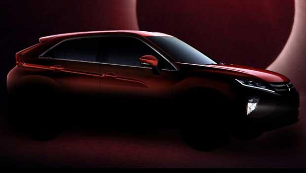 Mitsubishi Eclipse Cross será lançado em Genebra