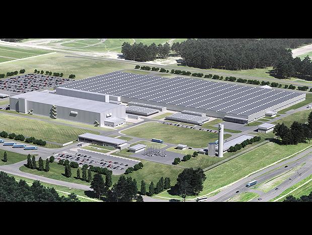 Projeção em 3D antecipa como ficará a fábrica do BMW Group no Brasil