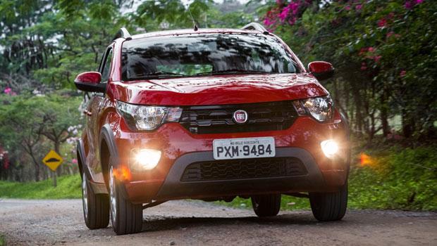 O Fiat Mobi é um citycar e no mês passado emplacou mais de 3 mil unidades