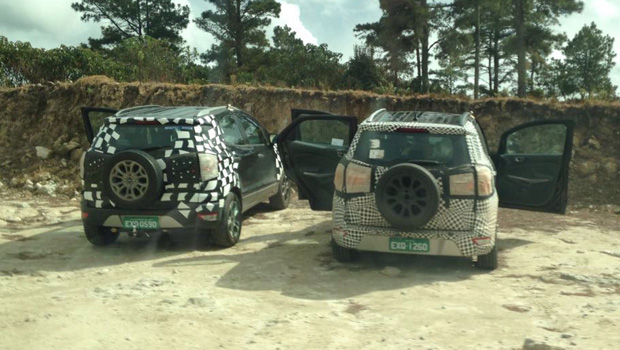 Leitor flagrou as duas unidades do novo Ecosport no interior de SP
