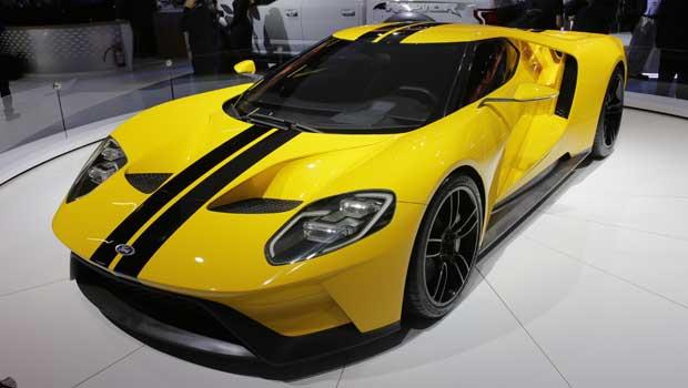 Ford trouxe uma unidade do GT para ser exposta no Salão de SP