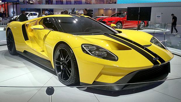 Ford GT é um dos principais modelos do Salão de SP