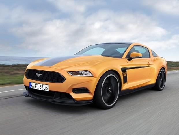 Nova geração do Ford Mustang em projeção exclusiva