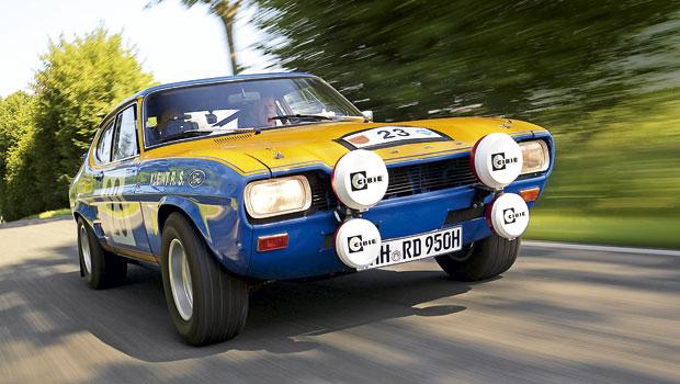 Ford Capri, um fastback europeu inspirado no Mustang ianque