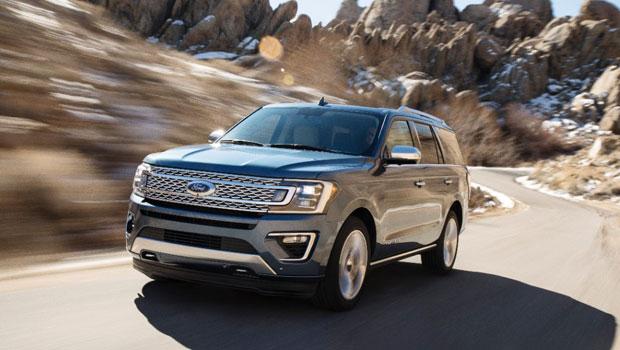 A Ford reduziu em 130 quilos o peso do Expedition