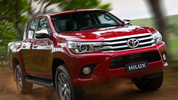 A oitava geração da Hilux está sendo vendida desde janeiro