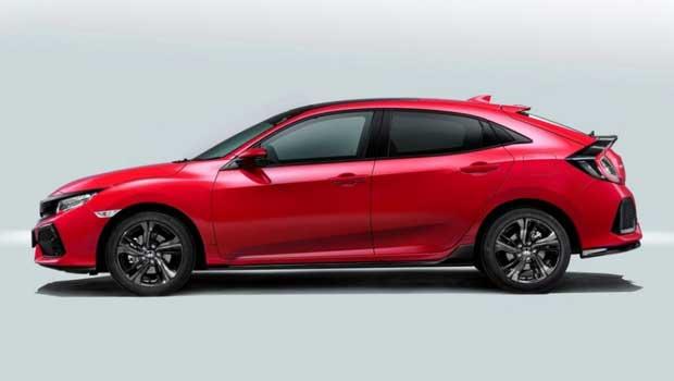 Honda Civic hatch estará exposto durante o Salão de Paris neste mês